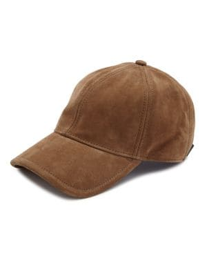 a9d9ac79241 Rag   Bone Marilyn Suede Baseball Cap - Brown In Camel