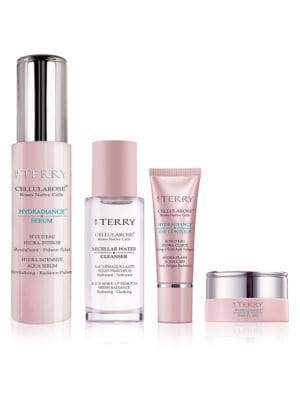 Image of Set includes:.Micellar Water Cleanser (1 oz.) - This integral micellar water, enriched with brightening white Rose Native Cells, gently removes the most stubborn make-up and impurities. How to use: Apply morning and/or evening using a cotton pad. Do not r