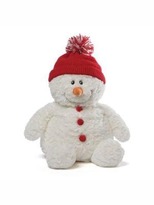 SnowmanInspired Teddy Bear Soft Toy