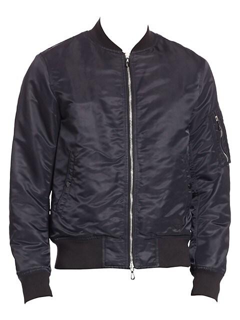 Long Sleeve Bomber Jacket