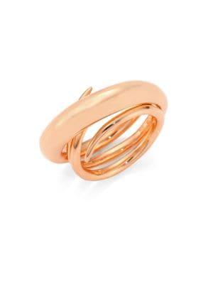Hurly Burly Ring/Goldtone, Rose Gold