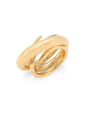 "Hurly Burly Ring/Goldtone 1"""