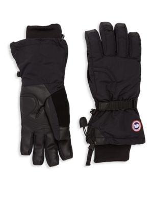 Men'S Down-Filled Gloves in Black