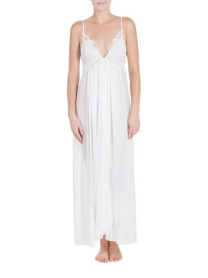 Windsong Bridal Lace Appliqued Night Gown