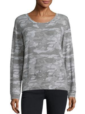 Camouflage-Print Sweatshirt by MONROW
