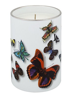 "Image of A flight of real and imaginary butterflies that fly over the pieces in a remarkable three-dimensional effect Height, about 4"" Porcelain Made in Portugal. Gifts - Serveware > Saks Fifth Avenue. Christian Lacroix by Vista Alegre."