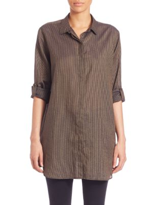 Oversized Striped Shirt by M.i.h Jeans
