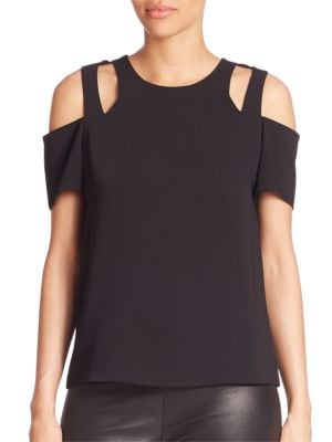 Padma Cold-Shoulder Top by Cooper & Ella