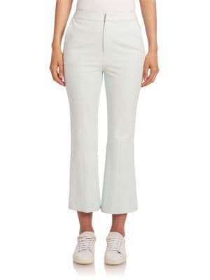 William Cropped Flared Pants by Opening Ceremony