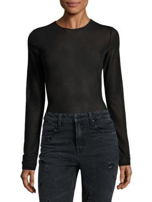 Mercer Solid Bodysuit by Alix