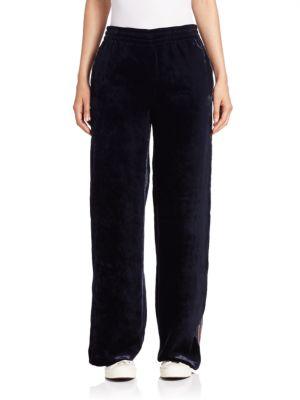 Velvet Wide Leg Pants plus size,  plus size fashion plus size appare
