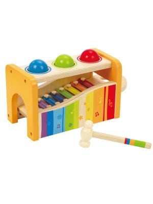 Hape Toys Early Melodies Pound Amp Tap Bench