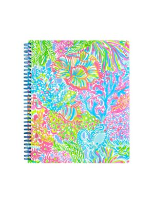 Lovers Coral Large Notebook