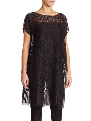 Architectural Lace Tunic by Akris