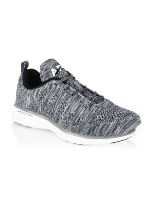 APL ATHLETIC PROPULSION LABS Athletic Propulsion Labs Men'S Techloom Pro Lace Up Sneakers in Light Gray