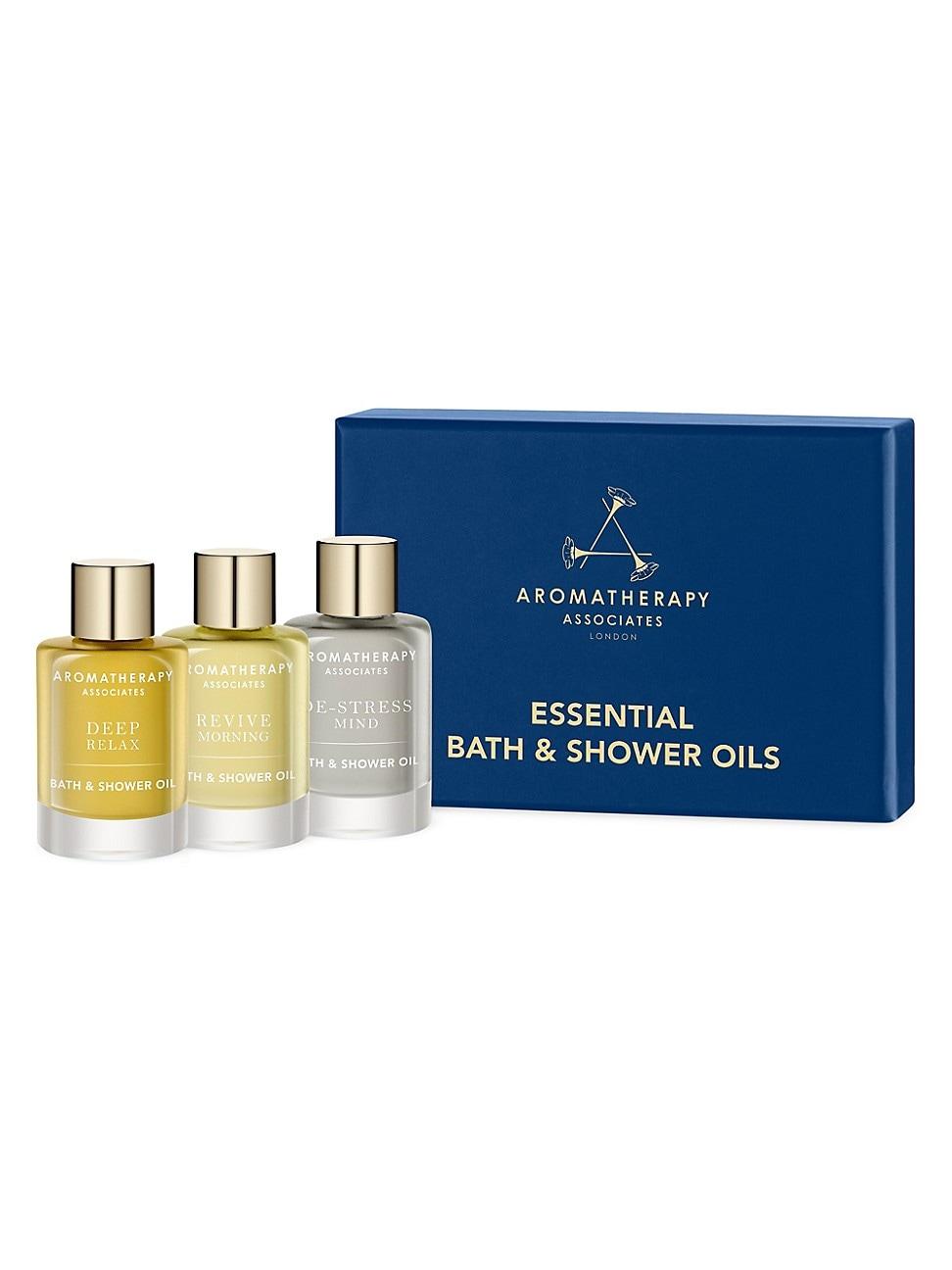 Aromatherapy Associates Women's Essential Bath & Shower Oils