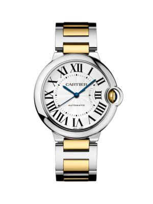 Cartier Ballon Bleu de Cartier 18K Yellow Gold & Stainless Steel Bracelet Watch/36MM