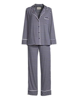 c57aefafdf MAISON DU SOIR Monaco Long-Sleeve Pajamas