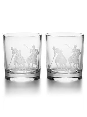 Garrett Old Fashioned Glass  Set Of 2 by Ralph Lauren