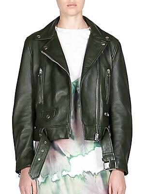 Iro Ashville Leather Moto Jacket Saks Com