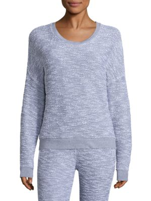 Boucle French Terry Sweatshirt by Stateside