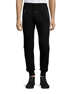 a22054d885 The Kooples. Quilted Panel Sweatpants