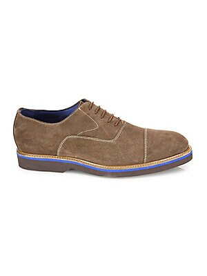 Saks Fifth AvenueCOLLECTION BY MAGNANNI Creeper Suede Lace-Up Derbys MfeP6
