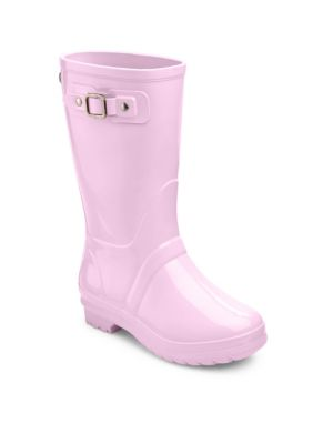 Babys Toddlers  Kids Buckle Strap Rain Boots
