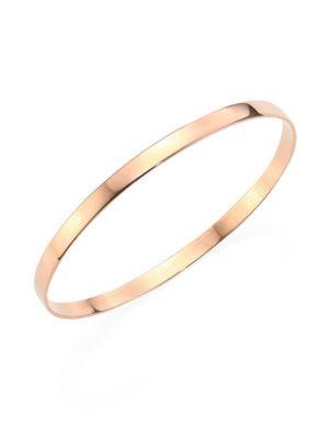 Medium Vanity 14K Rose Gold Bangle Bracelet