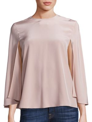 Silk Cape Top by Tibi