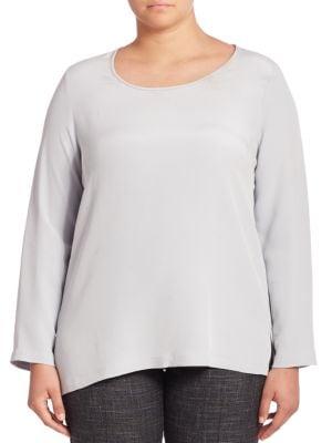 Biarritz Silk Blouse plus size,  plus size fashion plus size appare