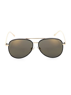 9bed2c55db Jimmy Choo - Reto 57MM Mirrored Aviator Sunglasses
