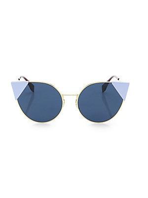 f69edf6c6ba Fendi - 55MM Round Cat s-Eye Sunglasses