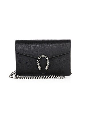 80dcc79c5d61 Gucci - Dionysus Mini Leather Chain Clutch - saks.com