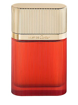 Image of An oriental fragrance with a unique freshness added by the very green note of galbanum. 1.6 oz. Made in France. Fragrances - Cartier Fragrances > Saks Fifth Avenue. Cartier.