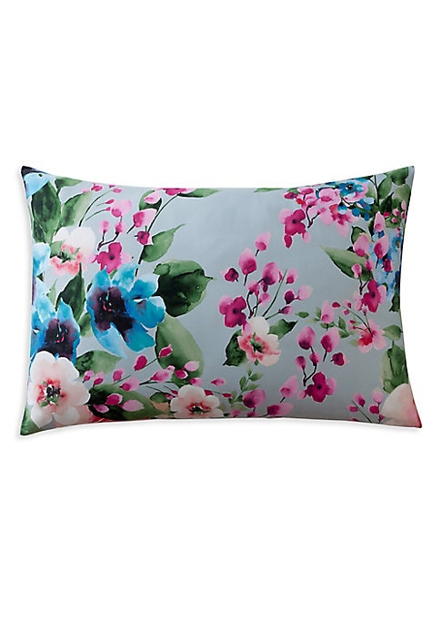 "Image of Add a touch of nature-inspired beauty to your home with this two-piece pillow cases crafted from long-staple combed cotton for supreme comfort. Includes 2 pillow cases.32""W X 22""H.Combed cotton. Machine wash. Made in Spain."