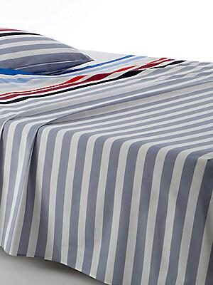 cf318f64a2 Sonia Rykiel Paris - Rue Notre Dame Des Champs Blanc Flat Sheet