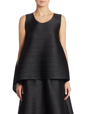 Solid Bounce Tank by Pleats Please Issey Miyake