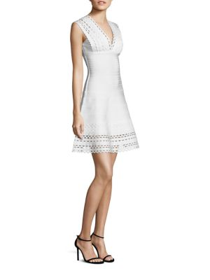 Buy Herve Leger Lattice Cocktail Dress online with Australia wide shipping