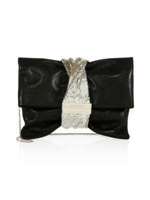 cf5d0155c8 Jimmy Choo - Sweetie Sparkle Acrylic Convertible Clutch - saks.com