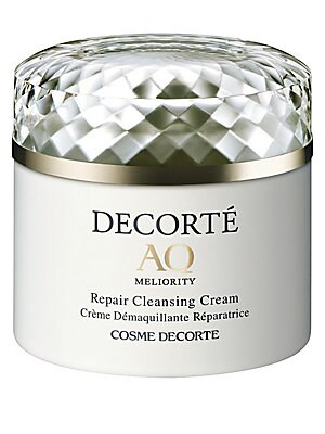 Image of Enveloping the skin with a melting-like sensation, this rich yet delicate cream dissolves makeup and debris while improving skin's healing abilities with an infusion of double peptides and emollients. Tissue or Rinse off. Thoroughly cleansed, skin retains