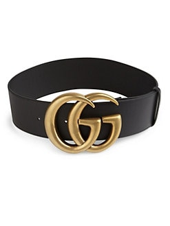 1a6191128474e8 Gucci. GG Buckle Leather Belt