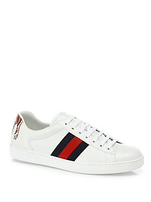 eecab8c5531 Gucci - New Ace Low-Top Sneakers with Tiger - saks.com