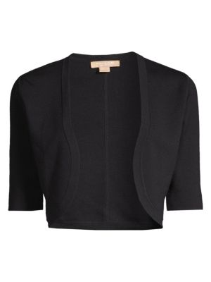 Michael Kors Collection Merino Wool Cropped Shrug