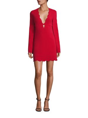 Buy A.L.C. Scalloped Shift Dress online with Australia wide shipping