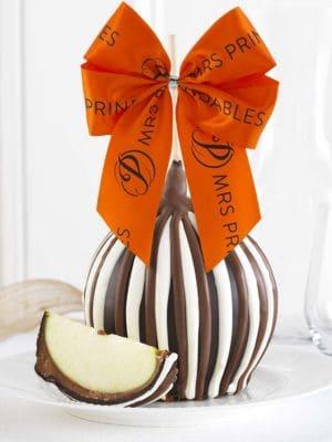 Triple Chocolate Jumbo Caramel Apple