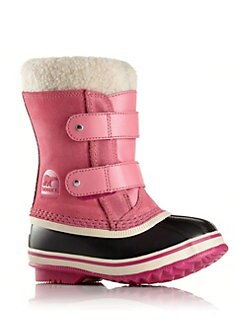 ac7536253d95 Sorel. Baby s 1964 Pac Faux Fur-Cuff Suede Snow Boots