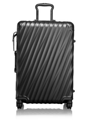 19-Degree Collection 26-Inch Wheeled Aluminum Short Trip Packing Case - Black, Matte Black
