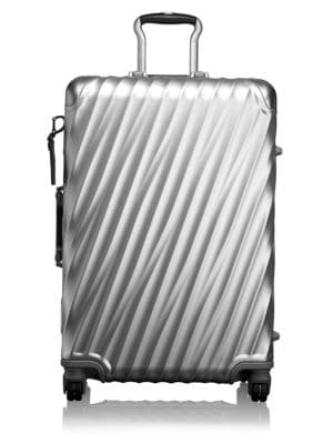 19-Degree Collection 26-Inch Wheeled Aluminum Short Trip Packing Case - Metallic, Silver