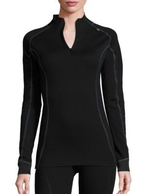 Merino Wool-Blend Base-Layer Top by Helly Hansen